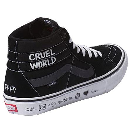 73cebefb606 Vans Vans x Cult Sk8-Hi Pro Cruel World Send Rescue Shoes