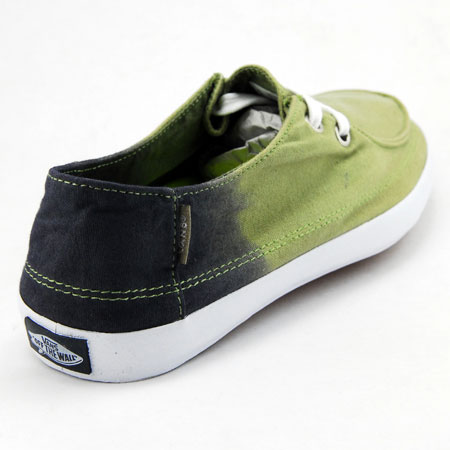 Vans Rata Vulc Shoes Navy Sage Canvas Ombre In Stock At