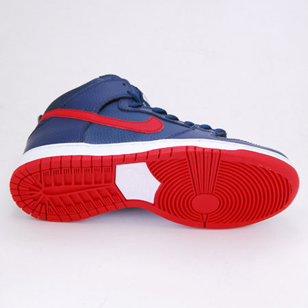 huge discount 89683 bcadf Nike Dunk High Pro SB NT Shoes, Squadron Blue  University Red  White Photos