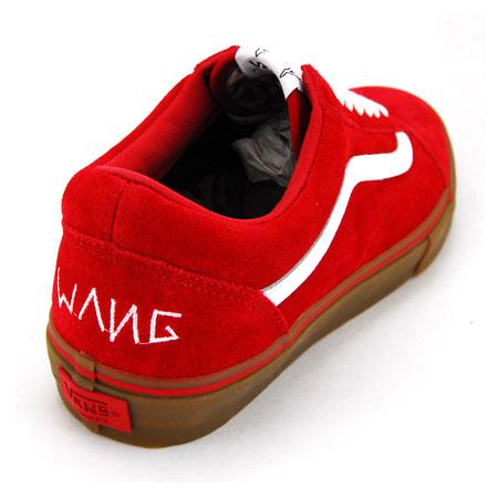 vans syndicate old skool red