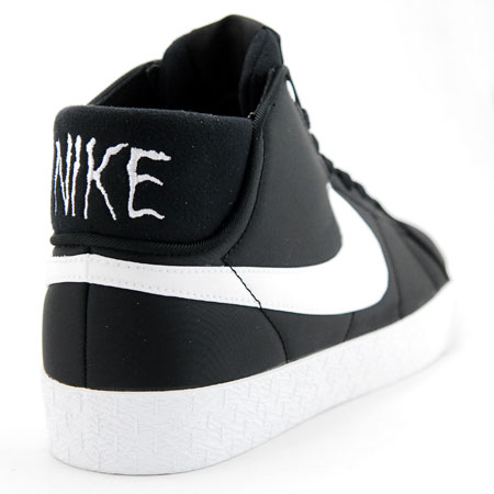 4d54c1ec Nike Blazer Mid LR Neckface Shoes, Black/ White in stock at SPoT ...