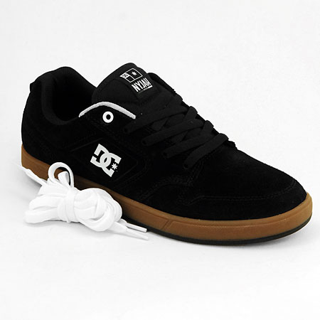 DC Shoe Co. Nyjah Huston S Shoes, Black/ Gum in stock at