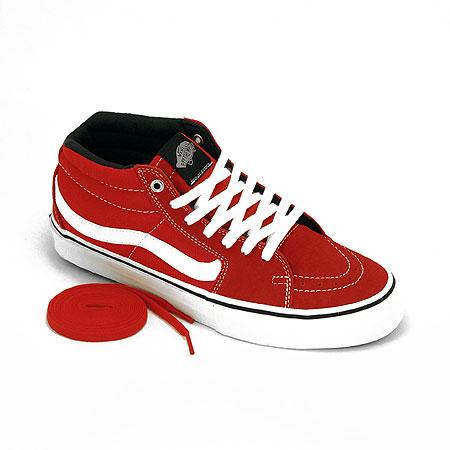 Vans Sk8 Mid Red