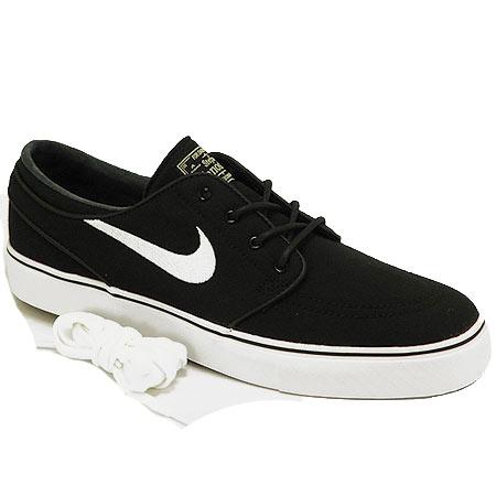 Nike Zoom Stefan Janoski Canvas Shoes Black Gum Light