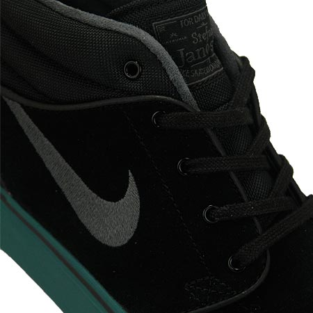 sale retailer 57ae0 4216e Nike Stefan Janoski Mid Shoes, Black  Dark Base Grey  Atomic Orange Photos