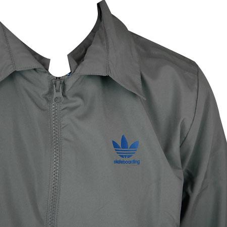 adidas Team Windbreaker Jacket, Tech Grey in stock at SPoT Skate Shop