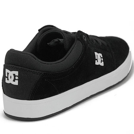 dc shoe co crisis shoes black white in stock at spot