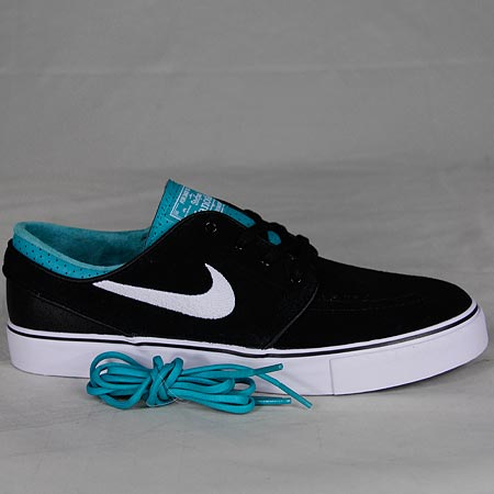 separation shoes 9191e 72509 Nike Zoom Stefan Janoski Shoes, Black White Turbo Green Photos
