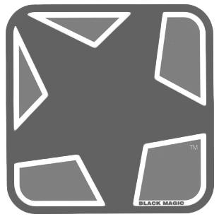 Black Magic Black Magic Sheet Griptape