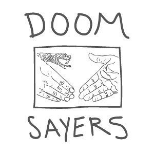 Doom Sayers Doom Wood T Shirt, White