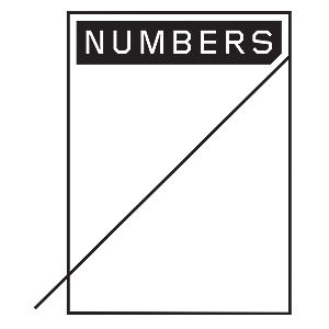 Numbers Edition Metered Logo Sticker