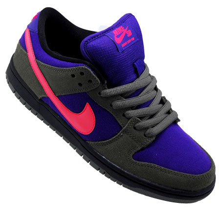sneakers for cheap 890f5 5a661 Nike Dunk Low Pro SB Shoes, Medium Olive Atomic Red Electric Purple