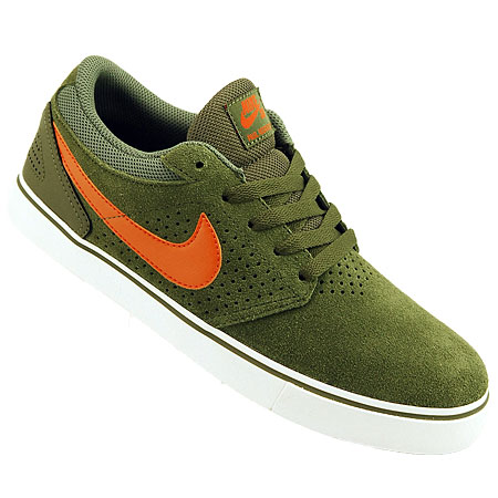 check out 90ac7 adcd6 Nike Paul Rodriguez 5 LR Shoes, Medium Olive Urban Orange Mercury Grey