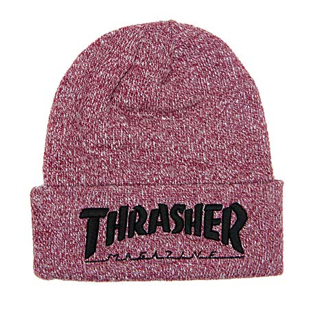 c7edc9526d3 Thrasher Magazine Embroidered Logo Beanie in stock at SPoT Skate Shop