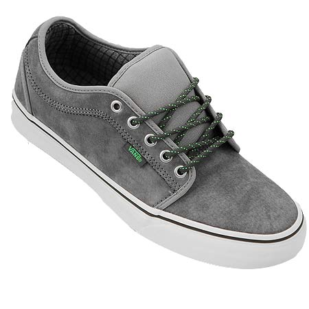 gray chukka low vans white