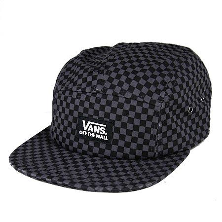 9c1b08a844ee2 Vans Jasper Camper 5-Panel Strap-Back hat in stock at SPoT Skate Shop