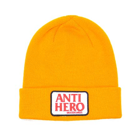 Anti-Hero Reserve Patch Beanie in stock at SPoT Skate Shop 08ea9a89ce2