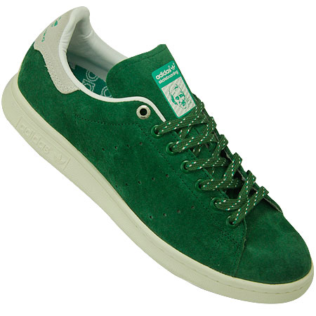 hot sale online bbc96 279a8 adidas Stan Smith Skate Shoes, Amazon Green Running White