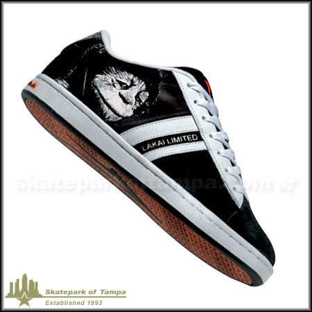 new styles 95419 6a6c9 Black Leather  White
