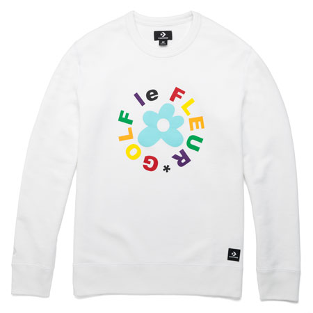 Converse Golf Le Fleur Crewneck Sweatshirt In Stock At Spot Skate Shop