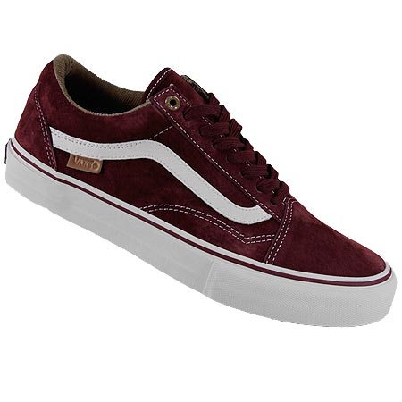 burgundy old skool vans high tops
