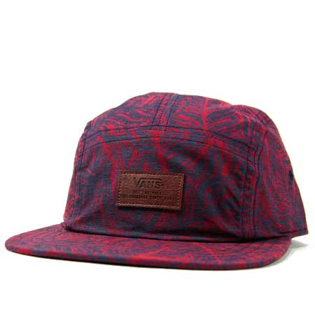 f31f308d857 Vans Davis 5-Panel Camper Hat in stock at SPoT Skate Shop