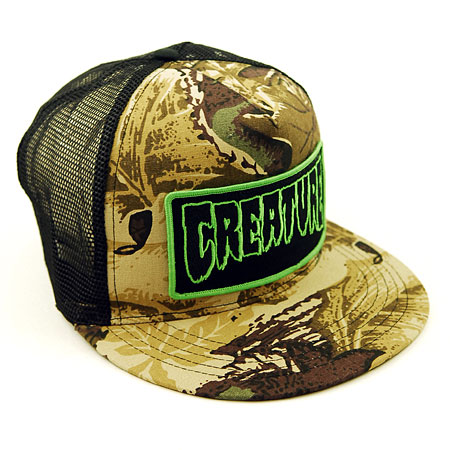 Creature Skateboards Hats Creature Skateboards Patch