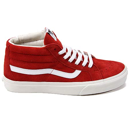 outlet store wide selection latest selection of 2019 Vans Sk8-Mid Reissue Unisex Shoes, Vintage Pompeii Red in ...