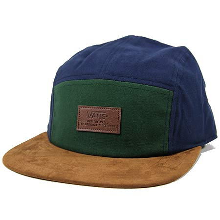 29eb6091 Vans Davis 5-Panel Camper Hat in stock at SPoT Skate Shop