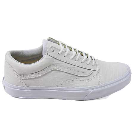 Vans OLD SKOOL REISSUE California Collection croc leather true white