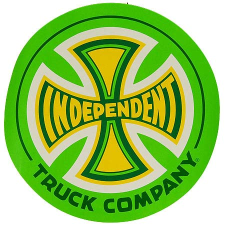independent 77 truck logo 12 decal sticker in stock at spot skate shop rh skateparkoftampa com independent trucks logo meaning
