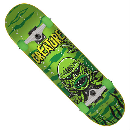 creature skateboards black lagoon complete skateboard in stock at
