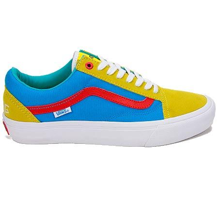 vans blue green yellow