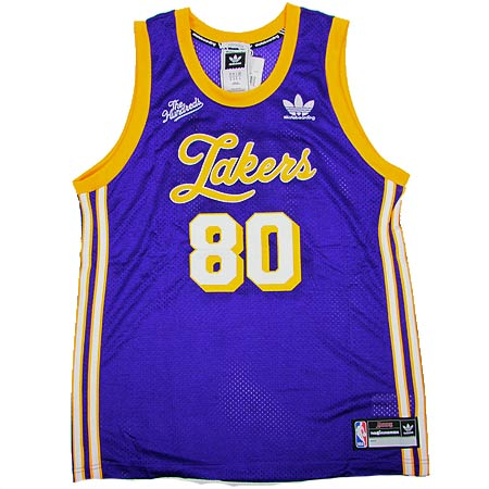 9b113246f adidas The Hundreds x Adidas Los Angeles Lakers Basketball Jersey in ...