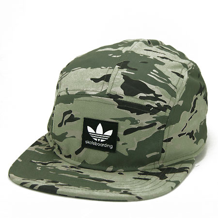 adidas Skate 5-Panel Strap-Back Hat in stock at SPoT Skate Shop b1c19a6199b