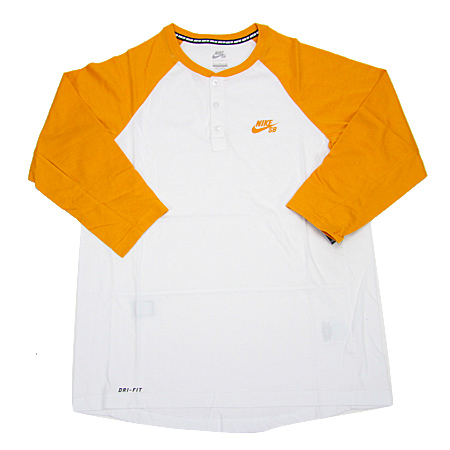 45a8cb51 Nike SB Dri-Fit 3/4 Sleeve Henley T Shirt in stock at SPoT Skate Shop