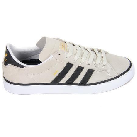 4546d1999ee adidas Campus Vulc II Shoes, Mist Stone/ Core Black/ Metallic Gold ...