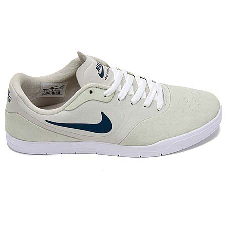Nike Paul Rodriguez 9 CS Shoes, Light Bone/ Squadron Blue/ White