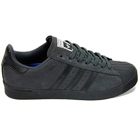 Adidas Superstar Vulc Adv Shoes Black Gold Metallic