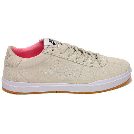 Nike Bruin SB Hyperfeel x Quartersnacks Shoes, Birch/ Space Pink/ Black/  White