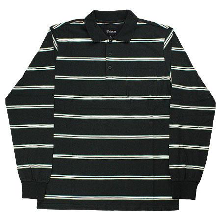 1f7199a27 Brixton Noah Long Sleeve Knit Polo Shirt in stock at SPoT Skate Shop