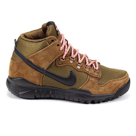 Nike SB Dunk High Boot Shoes, Military