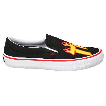 Vans Vans X Thrasher Slip-On Pro Shoes, Thrasher/ Black ...