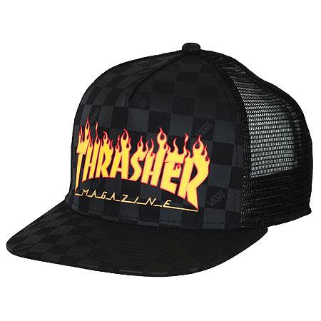 Vans Vans X Thrasher Trucker Snap-Back Hat in stock at SPoT Skate Shop c1726d65001