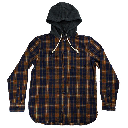 7c0797b6da Vans Lopes Buttondown Flannel Hoodie in stock at SPoT Skate Shop