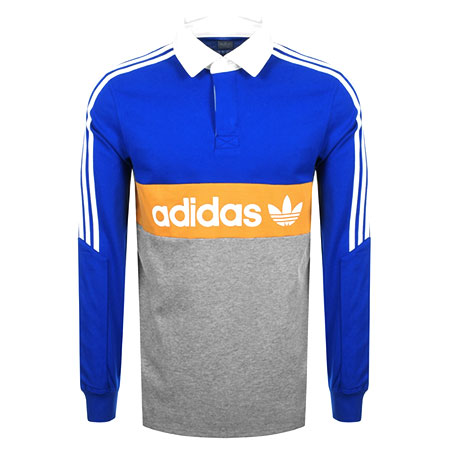 adidas polo neck t shirt