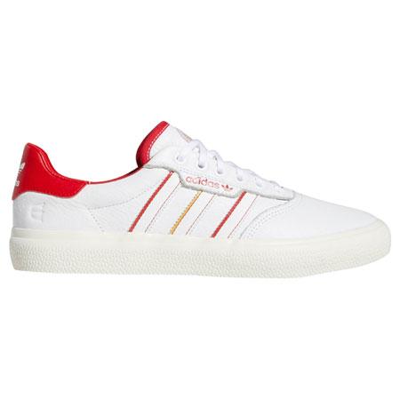 8e0ca1249f1 adidas 3MC Vulc X Evisen Shoes Cloud White  Scarlet  Gold Metallic  62.96