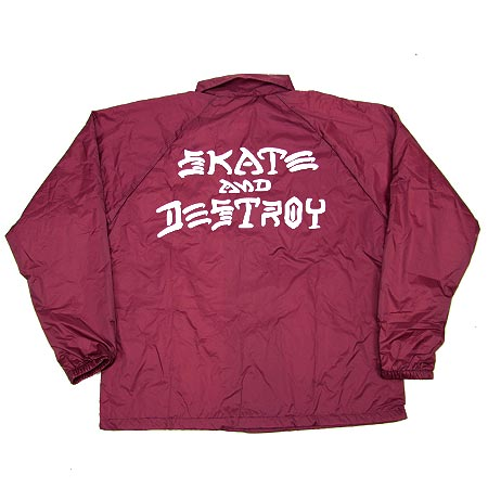 de6de62bdaad Thrasher Magazine Skate and Destroy Windbreaker Coaches Jacket in ...
