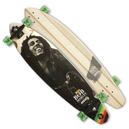 Sector Nine Bob Marley Soul Rebel Longboard Complete in ... Longboard Sector 9 Bob Marley
