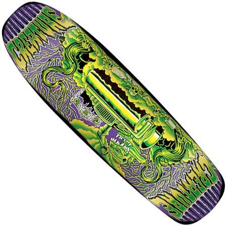 Creature Skateboards Scissors Deck in stock at SPoT Skate Shop